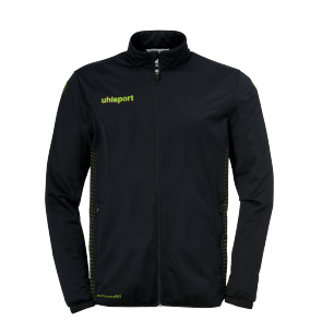 Training jacket Classic - Black/fluo Green - Men - S