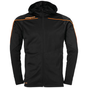 Training jacket Stream 22 - Black/fluo Orange - Kids - 116