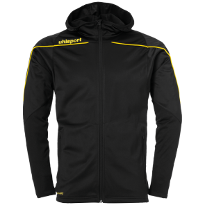 Training jacket Stream 22 - Black/lime Yellow - Kids - 116