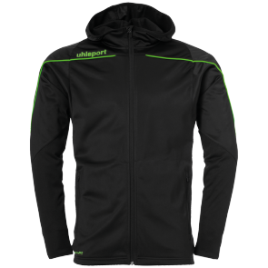 Training jacket Stream 22 - Black/fluo Green - Men - S
