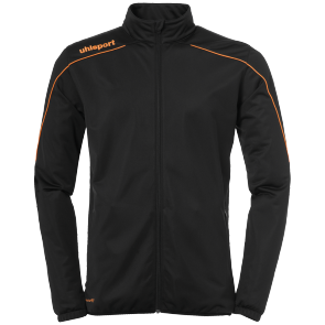 Training jacket Classic - Black/fluo Orange - Men - S