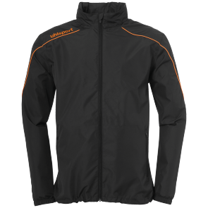 Jacket Stream 22 - Black/fluo Orange - Men - S