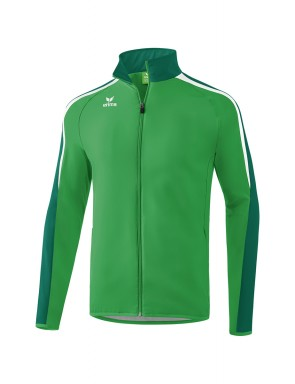 Liga 2.0 Presentation Jacket - Kids - smaragd/evergreen/white