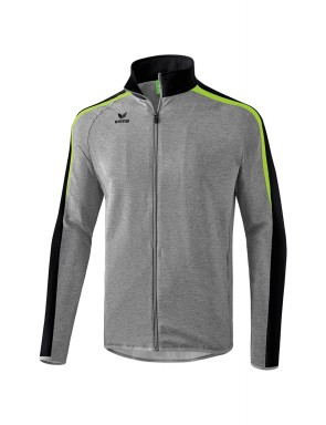 Liga 2.0 Presentation Jacket - Kids - grey marl/black/green gecko