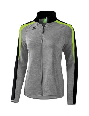 Liga 2.0 Presentation Jacket - Women - grey marl/black/green gecko