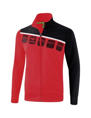 5-C Presentation Jacket - Kids - red/black/white