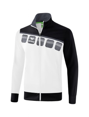 5-C Presentation Jacket - Men - white/black/dark grey