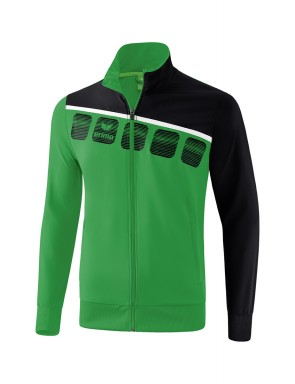 5-C Presentation Jacket - Men - emerald/black/white