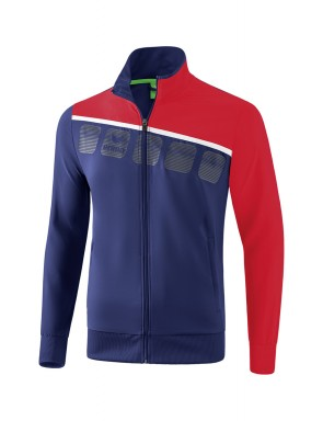 5-C Presentation Jacket - Men - new navy/red/white