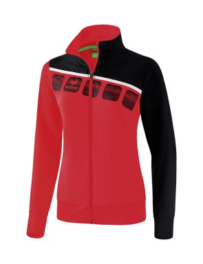 5-C Presentation Jacket - Women - red/black/white