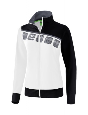 5-C Presentation Jacket - Women - white/black/dark grey
