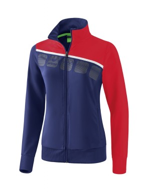 5-C Presentation Jacket - Women - new navy/red/white
