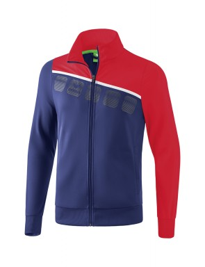 5-C Polyester Jacket - Kids - new navy/red/white