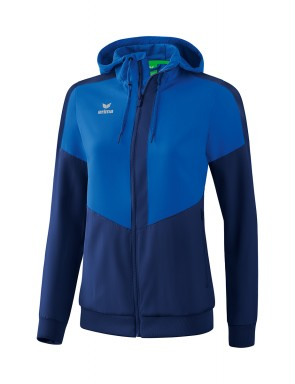 Squad Track Top Jacket with hood - Women - new royal/new navy