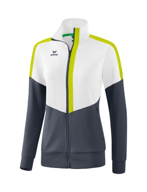 Squad Worker Jacket - Women - white/slate grey/bio lime