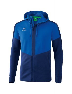 Squad Training Jacket with hood - Men - new royal/new navy