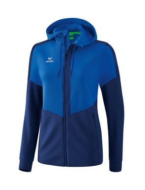 Squad Training Jacket with hood - Women - new royal/new navy