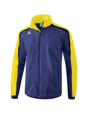 Liga 2.0 All-weather Jacket - Kids - new navy/yellow/dark navy