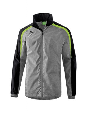Liga 2.0 All-weather Jacket - Kids - grey marl/black/green gecko