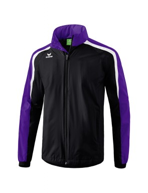 Liga 2.0 All-weather Jacket - Kids - black/dark violet/white