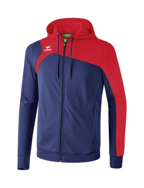 Club 1900 2.0 Training Jacket with Hood - Kids - new navy/red