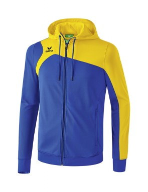 Club 1900 2.0 Training Jacket with Hood - Kids - new royal blue/yellow