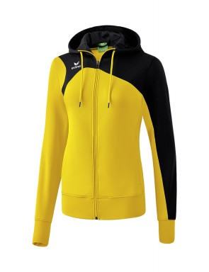 Club 1900 2.0 Training Jacket with Hood - Women - yellow/black
