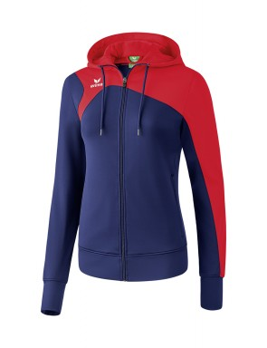 Club 1900 2.0 Training Jacket with Hood - Women - new navy/red