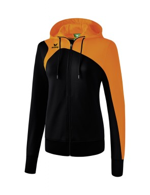 Club 1900 2.0 Training Jacket with Hood - Women - black/orange