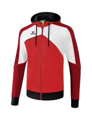 Premium One 2.0 Training Jacket with hood - Kids - red/white/black
