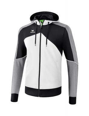 Premium One 2.0 Training Jacket with hood - Men - white/black/white
