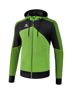 Premium One 2.0 Training Jacket with hood - Kids - green/black/white