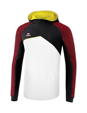 Premium One 2.0 Hoody - Men - white/black/red/yellow