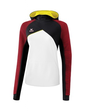 Premium One 2.0 Hoody - Women - white/black/red/yellow