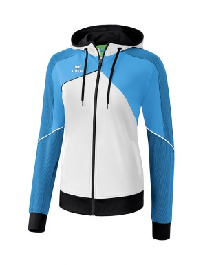 Premium One 2.0 Training Jacket with hood - Women - white/curacao/black