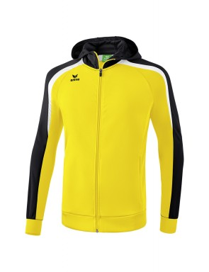 Liga 2.0 Training Jacket with hood - Kids - yellow/black/white