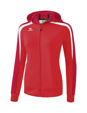 Liga 2.0 Training Jacket with hood - Women - red/tango red/white