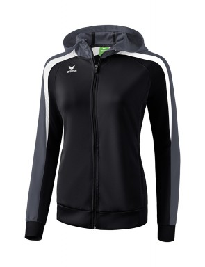 Liga 2.0 Training Jacket with hood - Women - black/white/dark grey