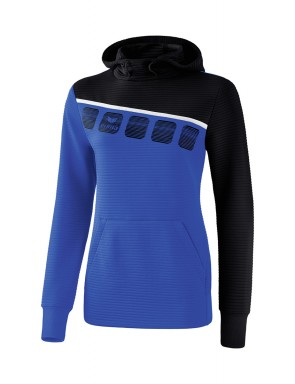 5-C Hoody - Women - new royal/black/white