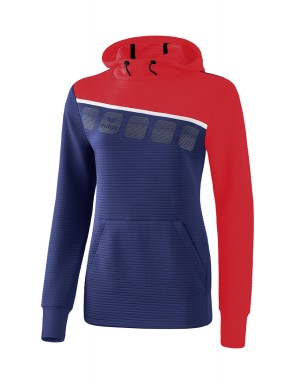 5-C Hoody - Women - new navy/red/white