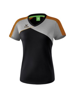 Premium One 2.0 T-shirt - Women - black/grey marl/neon orange