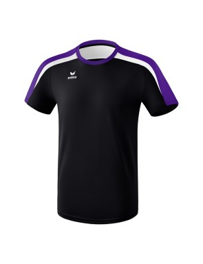 Liga 2.0 T-shirt - Kids - black/dark violet/white