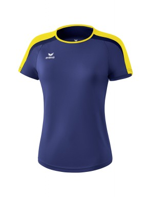Liga 2.0 T-shirt - Women - new navy/yellow/dark navy