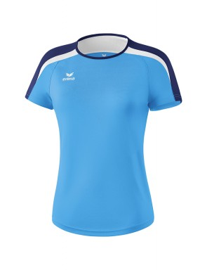 Liga 2.0 T-shirt - Women - curacao/new navy/white