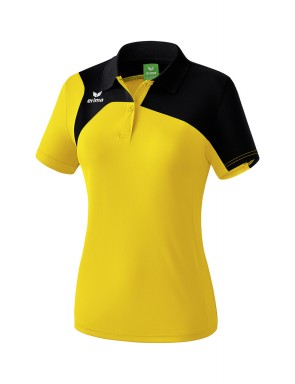 Club 1900 2.0 Polo-shirt - Women - yellow/black
