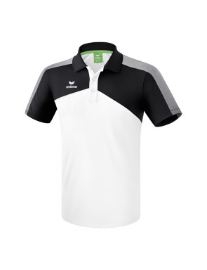 Premium One 2.0 Polo-shirt - Men - white/black/white