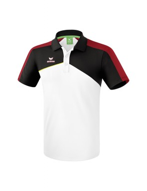 Premium One 2.0 Polo-shirt - Men - white/black/red/yellow