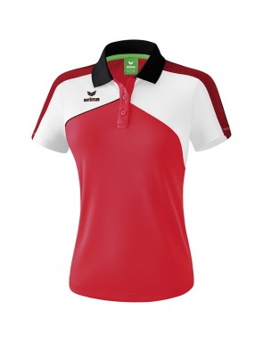 Premium One 2.0 Polo-shirt - Women - red/white/black