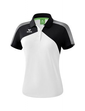 Premium One 2.0 Polo-shirt - Women - white/black/white
