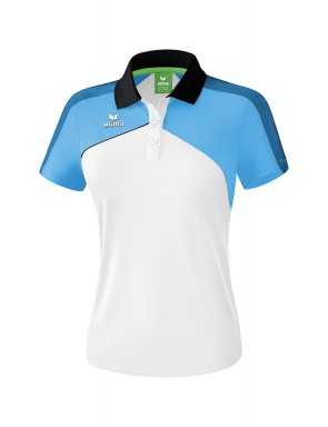 Premium One 2.0 Polo-shirt - Women - white/curacao/black